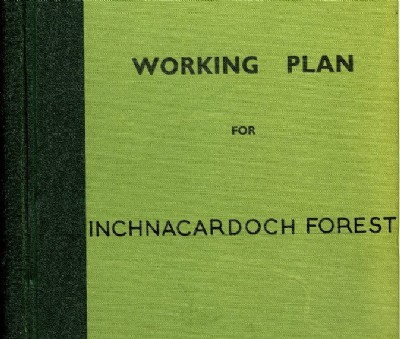 Working Plan for Inchnacardoch Forest 1962